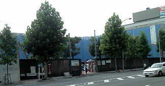 「京都国際マンガミュージアム」予定地2006/08/01