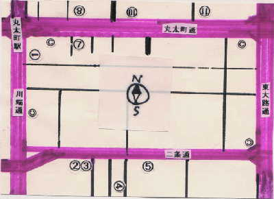 京都書店地図1995/07/29